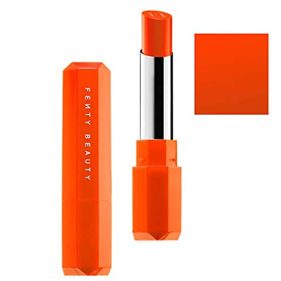 密接に欠かせない内側FENTY BEAUTY BY RIHANNA,New!!, 限定版 limited-edition, Poutsicle Juicy Satin Lipstick - Sun Snatched [海外直送品] [並行輸入品]