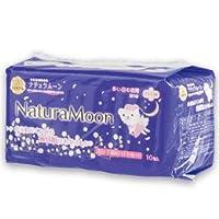 ナチュラムーン 生理用ナプキン(多い日の夜用羽つき) 10個入×24個セット