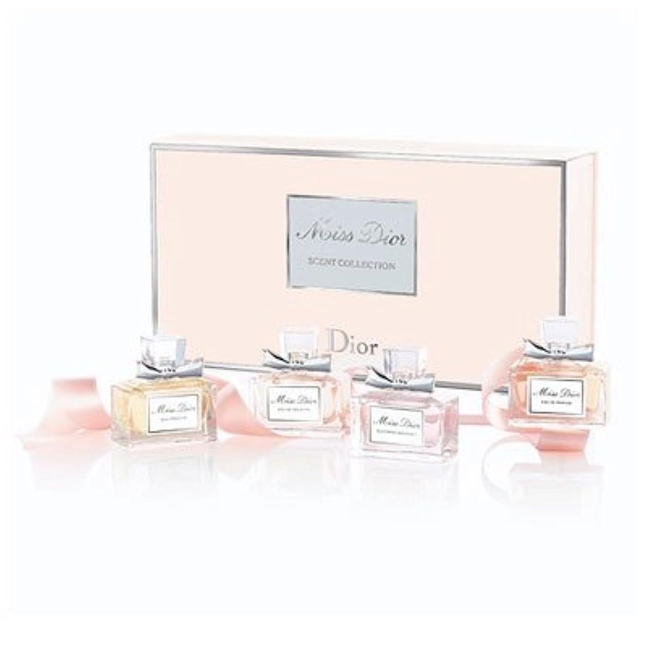 テーマ検出可能テーブルChristian Dior クリスチャン ディオール ミス ディオール セント コレクション 5ml x 4 [並行輸入品]