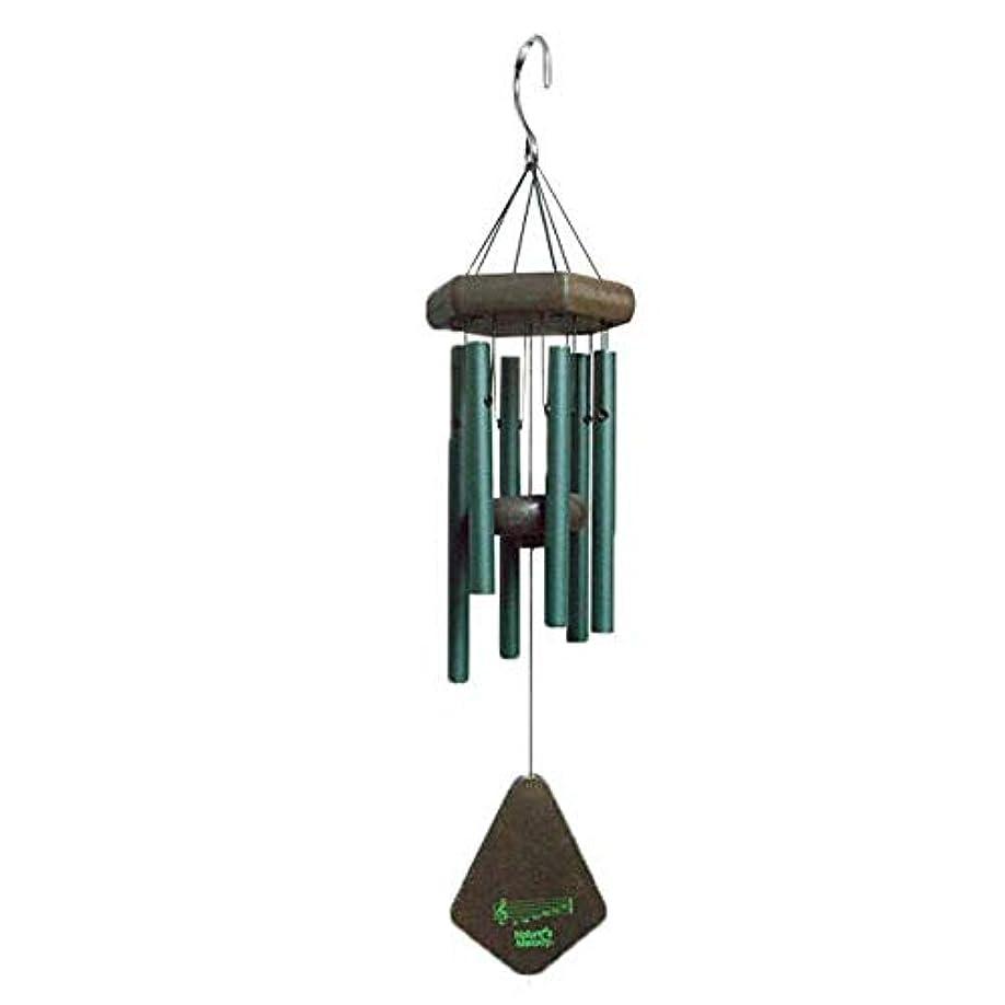 錫短命改善するKaiyitong01 風チャイム、メタル6チューブ風の鐘、ブラック、全身について52CM,絶妙なファッション (Color : Green)