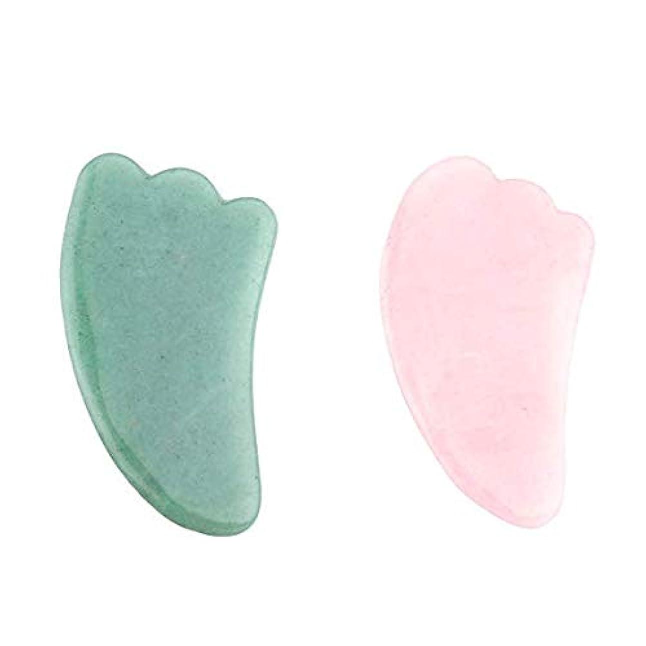 移動するいとこ立ち向かう(エルソルーナ) かっさプレート かっさマッサージ 美顔 天然石 パワーストーン (アウトレット ローズクォーツ スティック型, ピンク) (2カラー?2個)