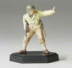 MM フィギュアコレクション 1/35 アメリカ歩兵攻撃 下士官A(完成品) 26006