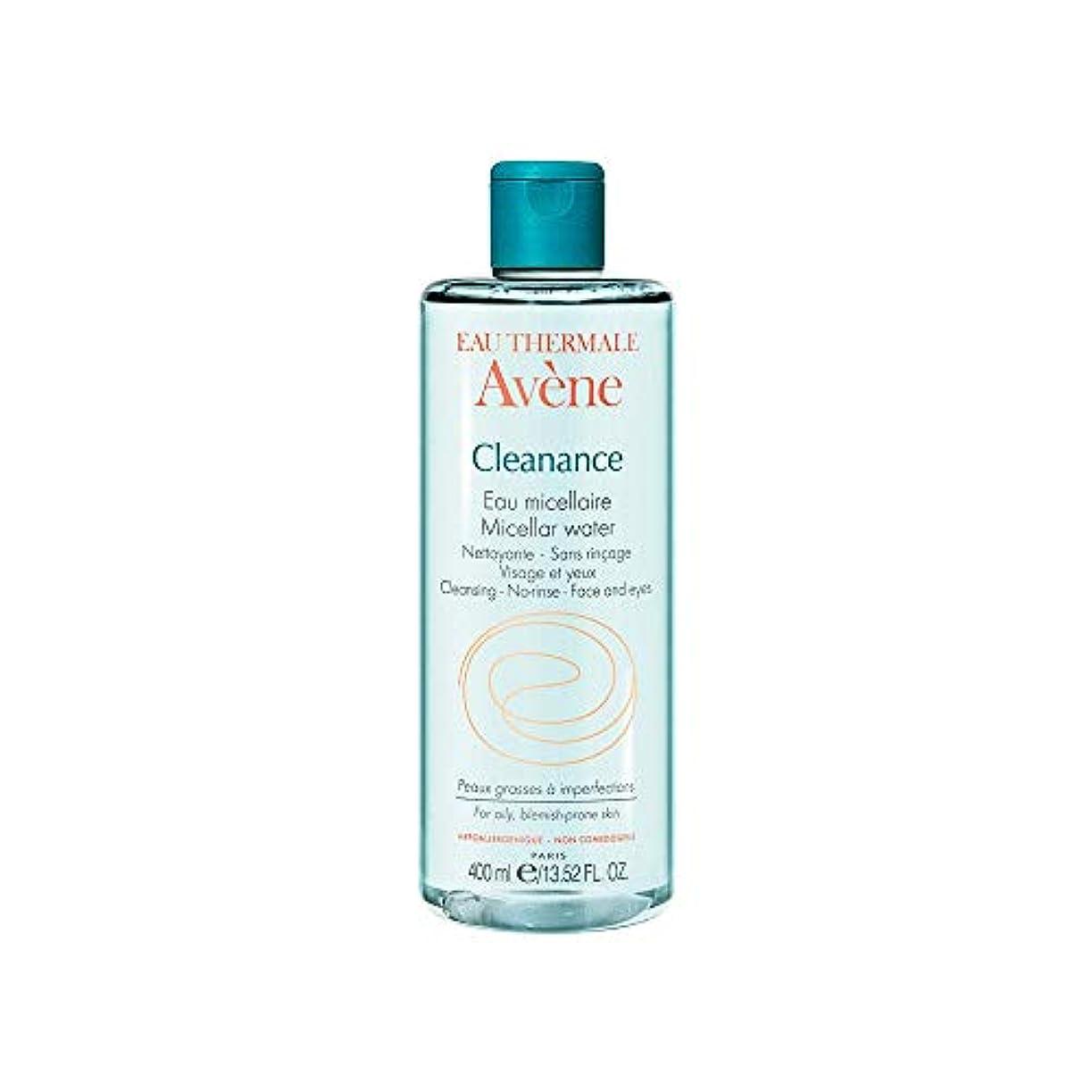立ち向かうクリップ雇ったアベンヌ Cleanance Micellar Water (For Face & Eyes) - For Oily, Blemish-Prone Skin 400ml/13.52oz並行輸入品