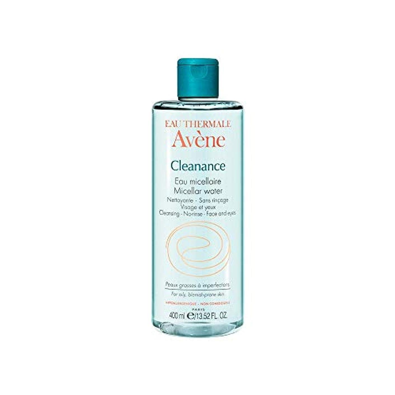 ガスパターン行商アベンヌ Cleanance Micellar Water (For Face & Eyes) - For Oily, Blemish-Prone Skin 400ml/13.52oz並行輸入品