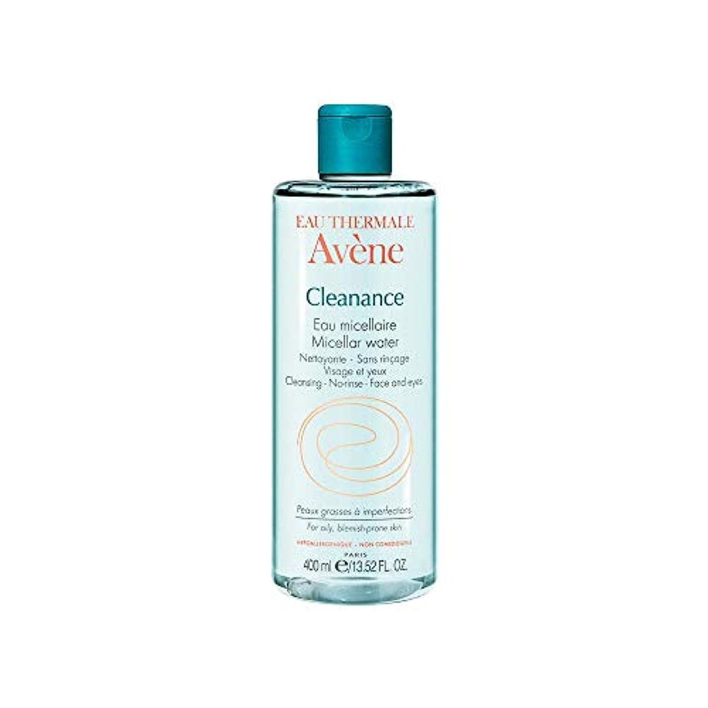 六大佐神経アベンヌ Cleanance Micellar Water (For Face & Eyes) - For Oily, Blemish-Prone Skin 400ml/13.52oz並行輸入品