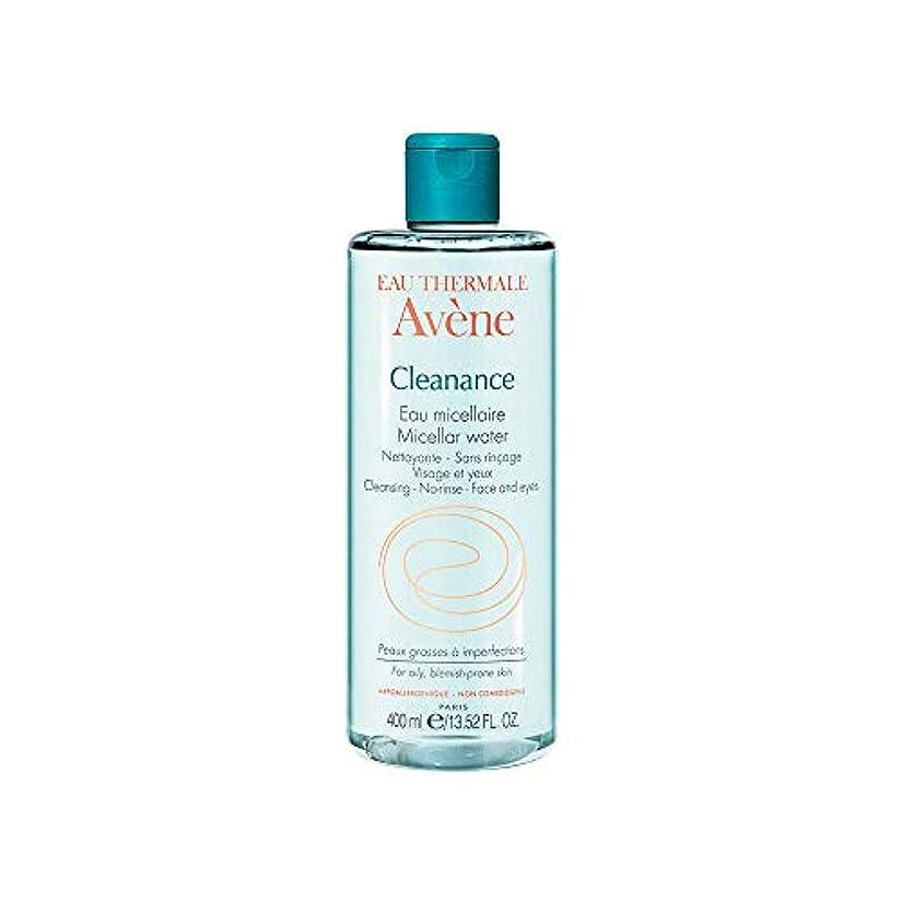 エキスパートペチコート信条アベンヌ Cleanance Micellar Water (For Face & Eyes) - For Oily, Blemish-Prone Skin 400ml/13.52oz並行輸入品