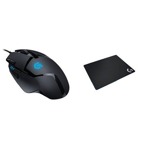 ロジクール ゲーミングマウス G402 + ゲーミングマウスパッドG240tセット