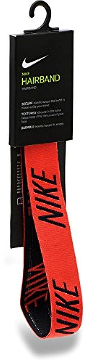 どのくらいの頻度でスキャン直面するNIKE(ナイキ) ロゴヘッドバンド ハバネロレッド BN2030-618