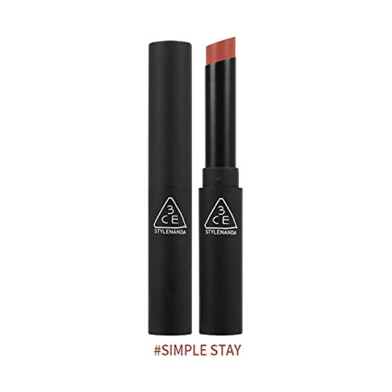 見つけたバイバイ光の3CEスリムベルベットリップカラー Slim Velvet Lip Color (# SIMPLE STAY) [並行輸入品]