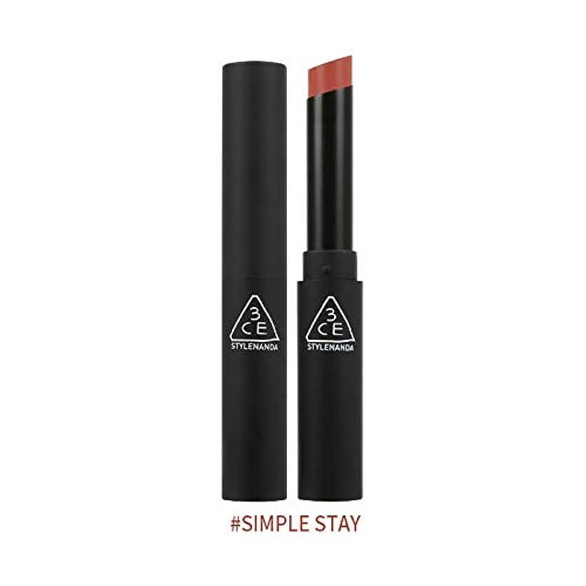 おじいちゃんシステム家具3CEスリムベルベットリップカラー Slim Velvet Lip Color (# SIMPLE STAY) [並行輸入品]