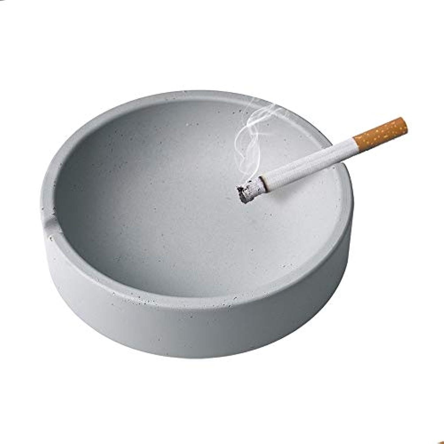 問題解明良心的屋内または屋外での使用のためのタバコの灰皿、喫煙者のための灰ホルダー、ホームオフィスの装飾のためのデスクトップの喫煙灰皿