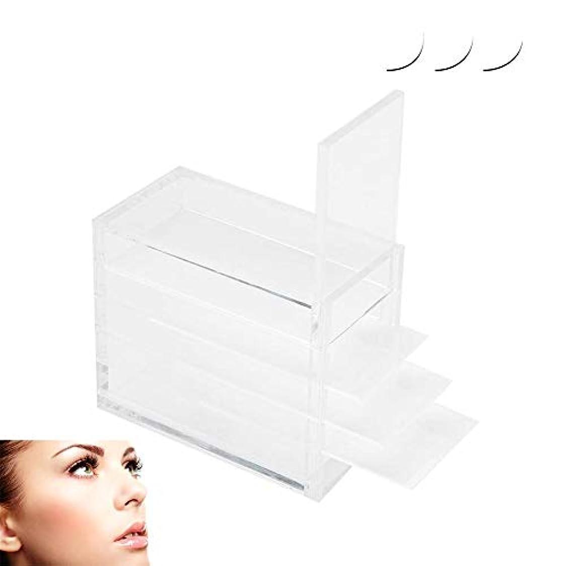 崩壊フォーラム殺しますZJchao プラスチックまつげの収納ボックス、5層の化粧オーガナイザー移植まつげ接着剤パレットホルダー