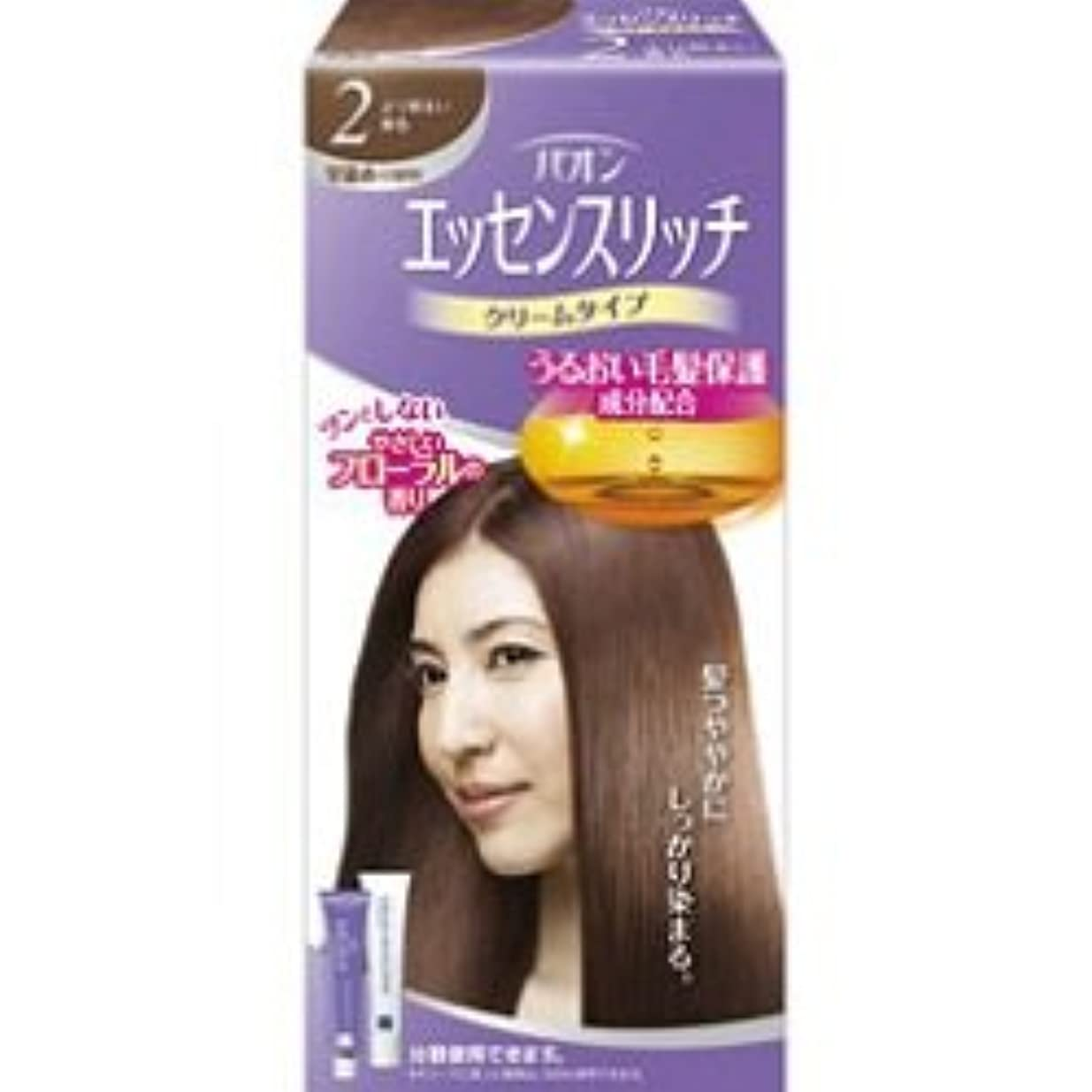 【シュワルツコフヘンケル】パオン エッセンスリッチ クリームタイプ 2 より明るい栗色 ×20個セット