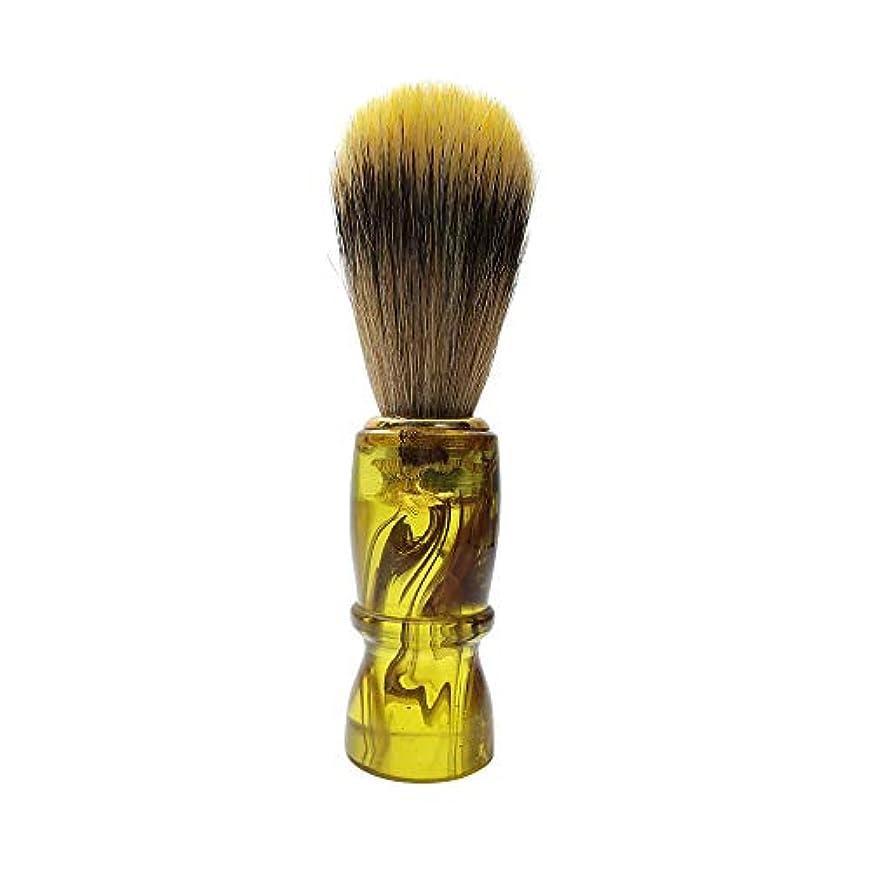 冗談で単なる解体するSRS三信 ヒゲブラシ タイプA 髭剃り シェービング用ブラシ 狸毛