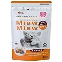 (まとめ)アイシア MiawMiawカリカリ小粒かつお270g 【猫用・フード】【ペット用品】【×12セット】 ds-1626802