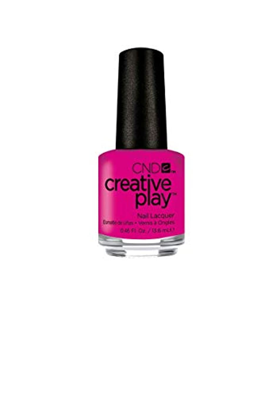 誤バラエティ根拠CND Creative Play Lacquer - Berry Shocking - 0.46oz / 13.6ml