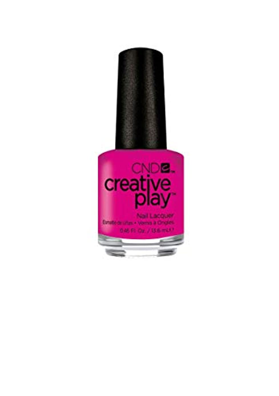 品種ペフ気分が良いCND Creative Play Lacquer - Berry Shocking - 0.46oz / 13.6ml