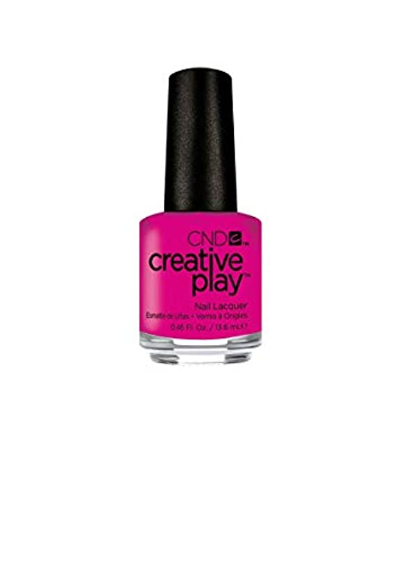 スポンサーやけど生き返らせるCND Creative Play Lacquer - Berry Shocking - 0.46oz / 13.6ml
