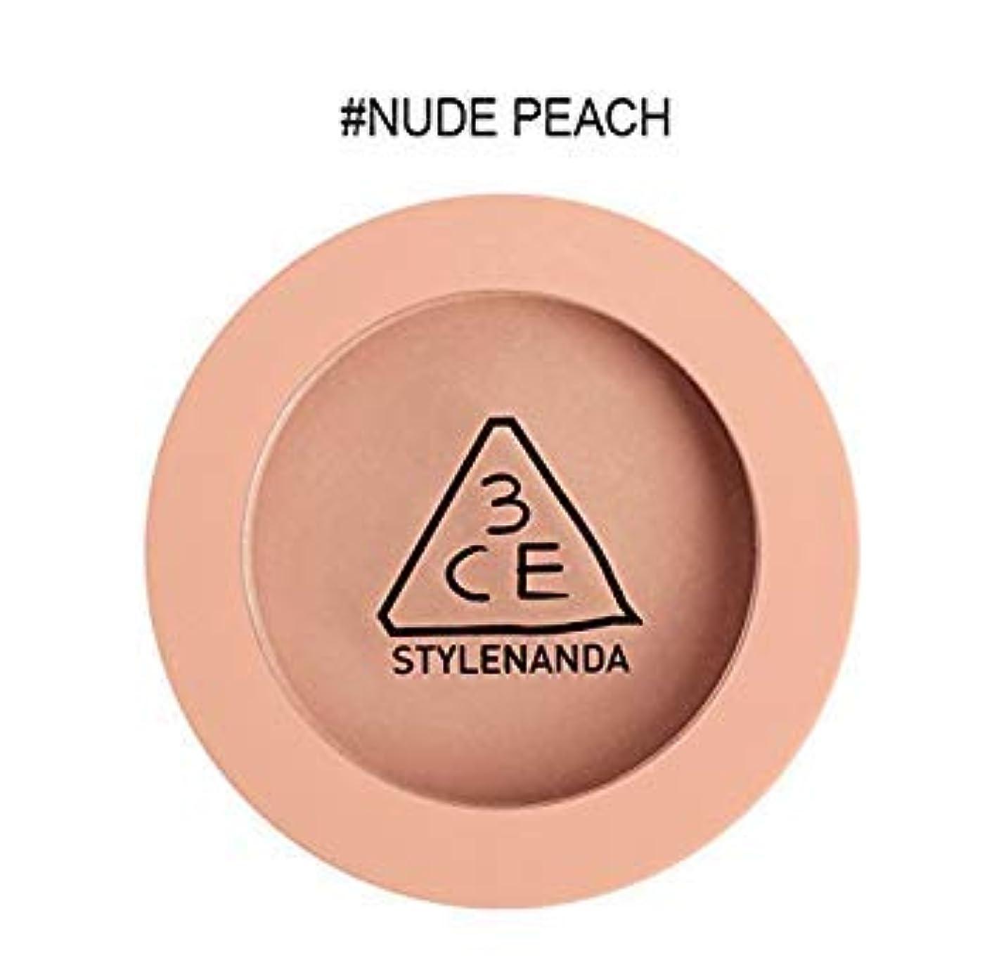 民兵面倒楽しむ3CE ムードレシピ フェイス ブラッシュ (チーク) / Mood Recipe Face Blush (ヌードピーチ(Nude Peach)) [並行輸入品]