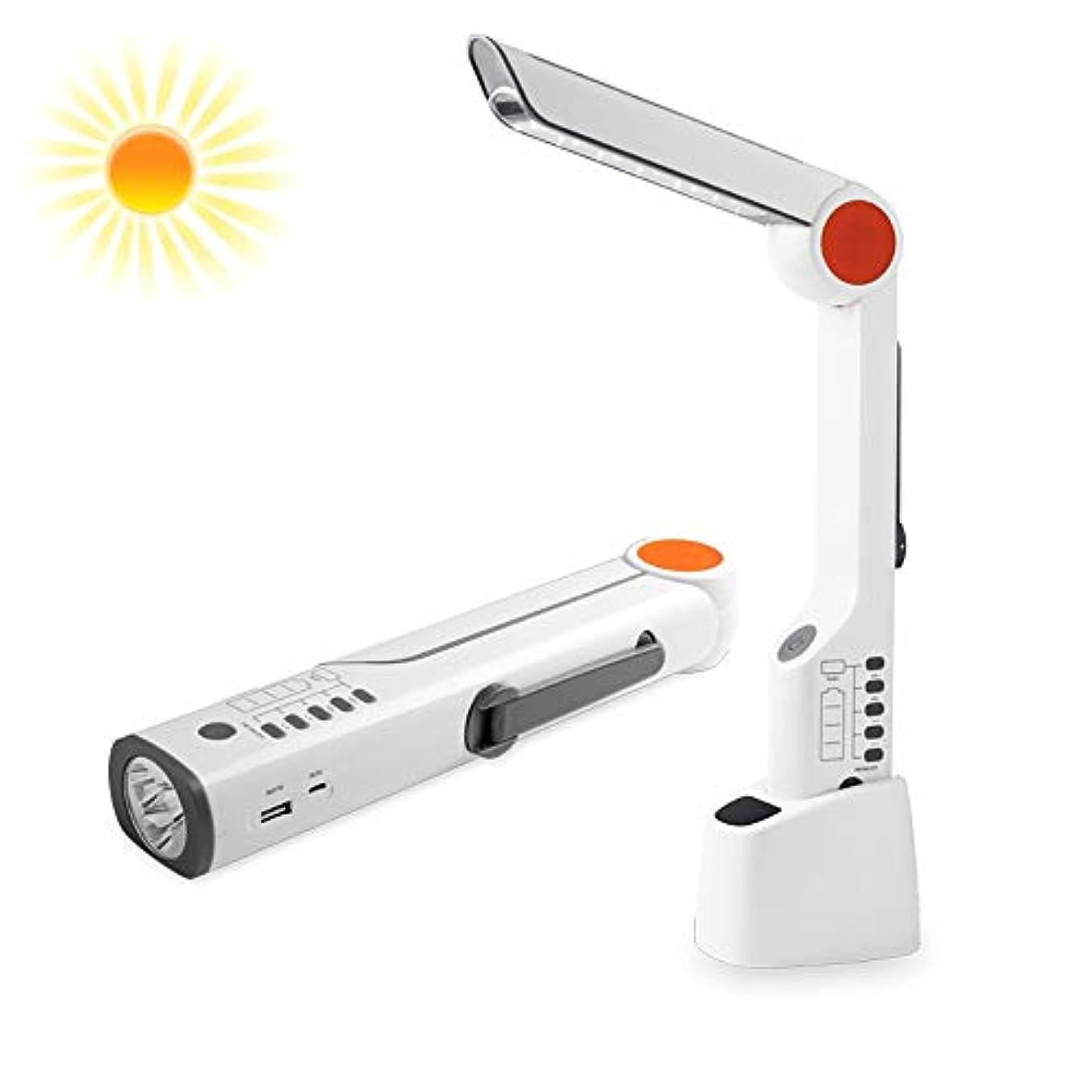 分析的逆説保持する多機能太陽ハンドクランクFMラジオ、緊急LED懐中電灯充電式USB点滅アラームモバイル電源、旅行のための、キャンプ