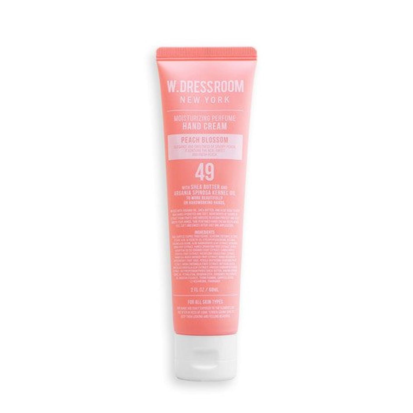 沼地スワップ伴うW.DRESSROOM Moisturizing Perfume Hand Cream 60ml/ダブルドレスルーム モイスチャライジング パフューム ハンドクリーム 60ml (#No.49 Peach Blossom...