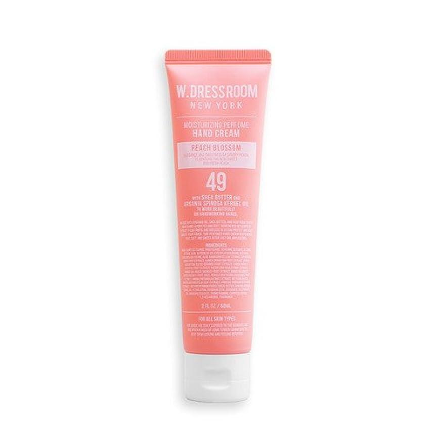 再開追加する攻撃的W.DRESSROOM Moisturizing Perfume Hand Cream 60ml/ダブルドレスルーム モイスチャライジング パフューム ハンドクリーム 60ml (#No.49 Peach Blossom...