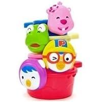 Pororo & Friend Pororo bathtub toy shower cup by Toy2b [並行輸入品]