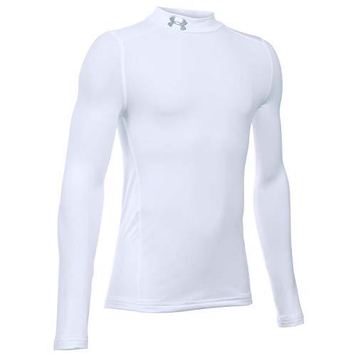 アンダーアーマー ジュニアスポーツウェア Tシャツ 18F UA CG ARMOUR MOCK 1288343 100 ボーイズ WHT STL