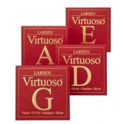 LARSEN Virtuoso ラーセン ヴィルトゥオーソ バイオリン弦セット (Medium ミディアムゲージ) ボールエンド