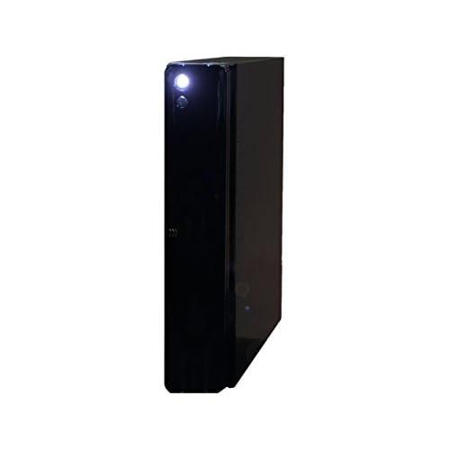 ファンレス電源搭載 SlimPc SD100 Celeron G1840 HDD 1TB メモリ8GB DVD Windows7PRO Office ブラック 静音 1年保証 パソコンショップaba