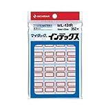 (業務用セット) ニチバン マイタック(R) インデックス 小・赤 1パック(16片×22) 【×