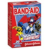 Band-Aid Children's Transformers Adhesive Bandages-20ctAssorted Sizes by Band-Aid