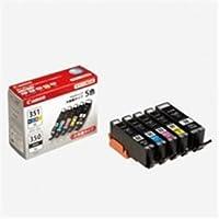 Canon キヤノン インクカートリッジ 純正 〔BCI-351XL+350XL/5MP〕 5色パック(ブラック×2・シアン・マゼンタ・イエロー)