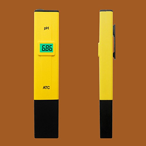 デジタルPHメーター Pamia PH測定器 範囲:0.00-14.00 校正剤付 熱帯魚飼育、水槽等の水質検査に 畑仕事にも