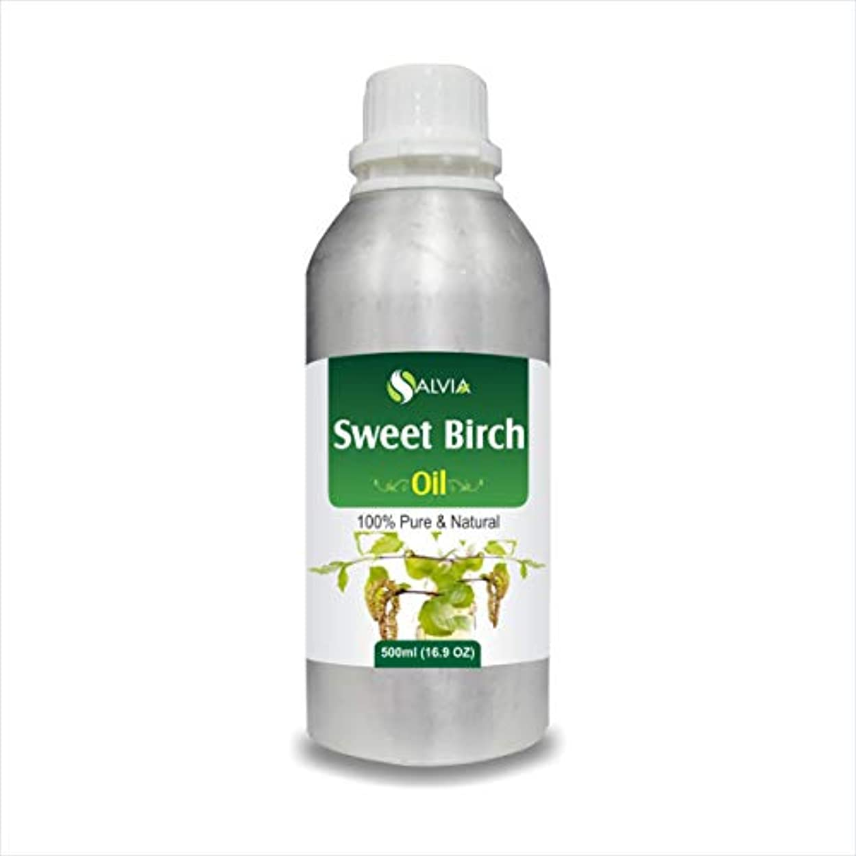 鳥歩く定期的なSweet Birch Essential Oil (Betula lenta) 100% Pure & Natural - Undiluted Uncut Therapeutic Grade - Aromatherapy...