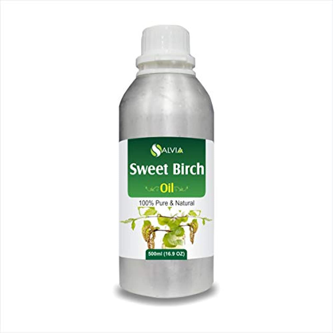Sweet Birch Essential Oil (Betula lenta) 100% Pure & Natural - Undiluted Uncut Therapeutic Grade - Aromatherapy...