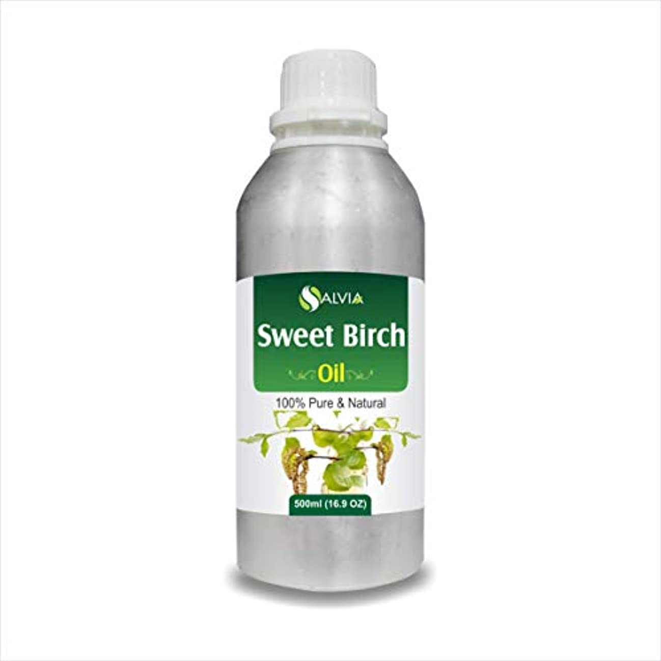 満了労苦コークスSweet Birch Essential Oil (Betula lenta) 100% Pure & Natural - Undiluted Uncut Therapeutic Grade - Aromatherapy...
