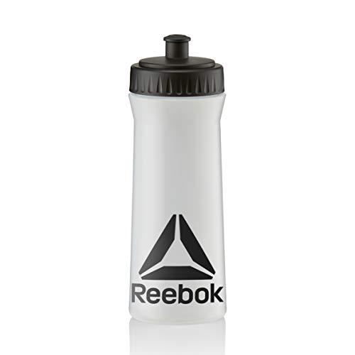 リーボック500mlウォーターボトル - クリア/ブラック...