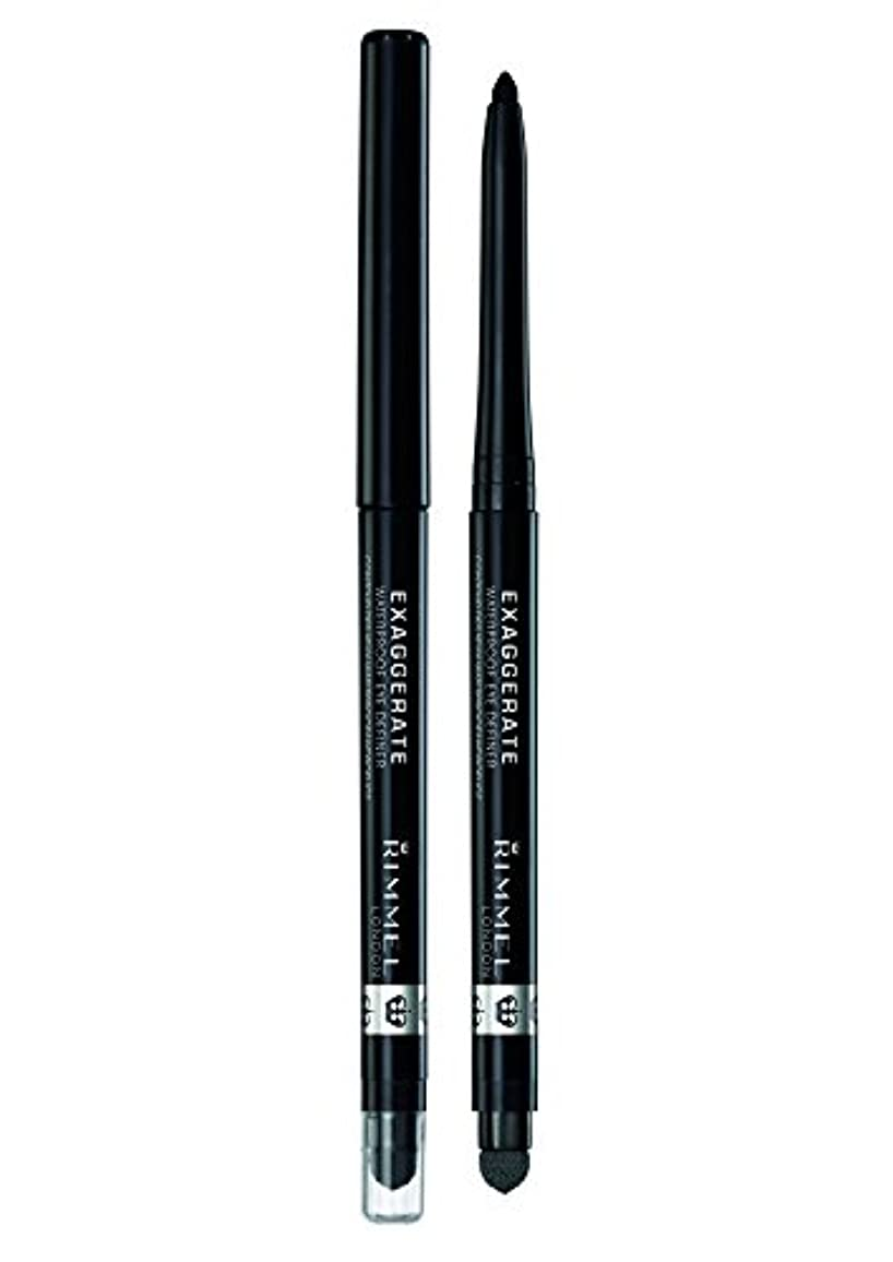 他の場所父方の協会RIMMEL LONDON Exaggerate Waterproof Eye Definer Blackest Black (並行輸入品)