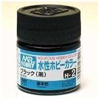 まとめ買い!! 6個セット「水性ホビーカラー ブラック(黒) H-2」