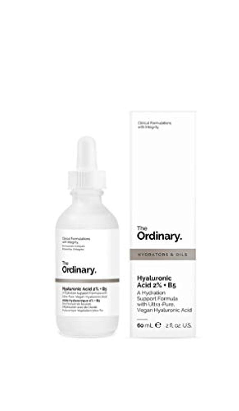 援助プレフィックスガラスThe Ordinary☆ジ オーディナリーHyaluronic Acid 2% + B5 60ml 肌の奥深くまで届くヒアルロン酸 美容液 60ml [並行輸入品]