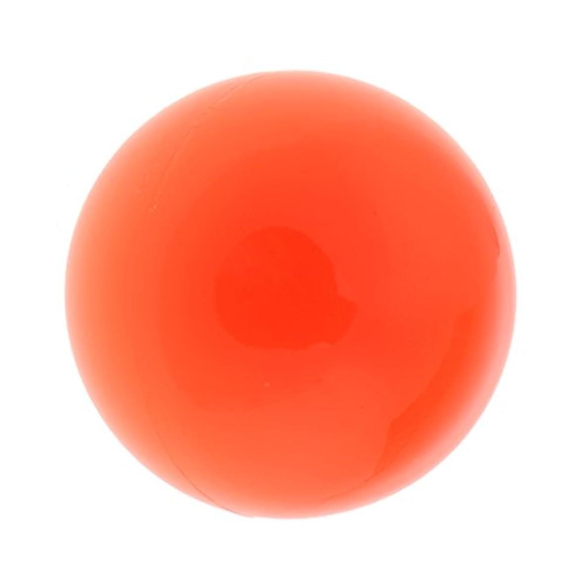 原点先駆者衝撃Fenteer ラクロスマッサージボール マッサージボール マッサージ 手のひら 足 腕 首 背中 足首 ジム ホーム 便利 オレンジ