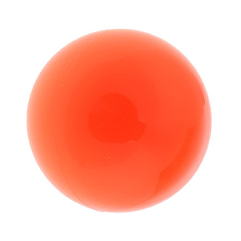 ペースアクセサリー被るFenteer ラクロスマッサージボール マッサージボール マッサージ 手のひら 足 腕 首 背中 足首 ジム ホーム 便利 オレンジ