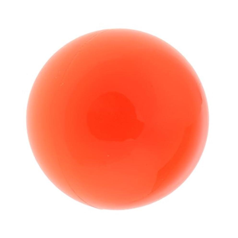 Fenteer ラクロスマッサージボール マッサージボール マッサージ 手のひら 足 腕 首 背中 足首 ジム ホーム 便利 オレンジ