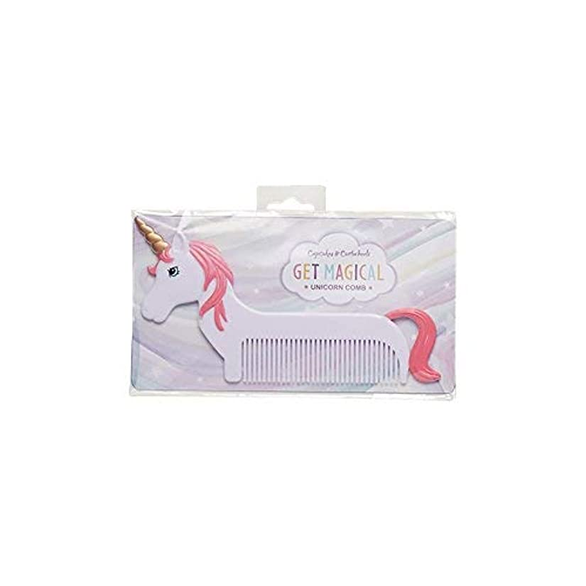 分注するフェンス倒産Magical Unicorn Pink Mane 6 x 3 Inch Hair Comb [並行輸入品]
