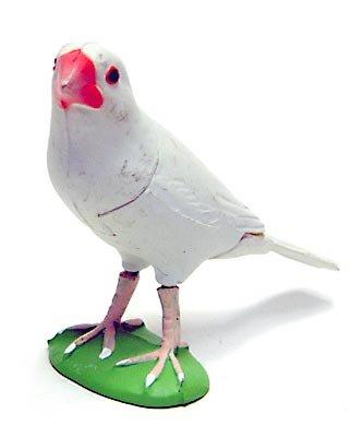 食玩 チョコエッグ ペット動物 第1弾 P05 ブンチョウ(白文鳥)