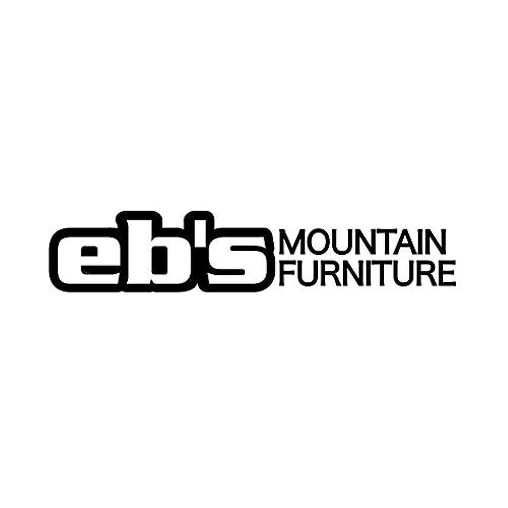 無意味誘惑する汚物eb's (エビス) ステッカー熱転写型抜きタイプ MOUNTAIN FURNITURE マウンテン?ファニチャー カッティングシール スノーボード