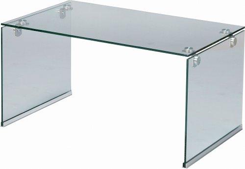 AZUMAYA ガラステーブル PT-28CL
