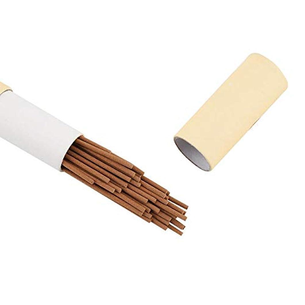 焦げグラムスリット天然ビャクダンの香の棒、瞑想、ヨガ、アロマセラピー、不安緩和のために屋内で香の棒夏のエッセンシャルホーム(サンダルウッド)