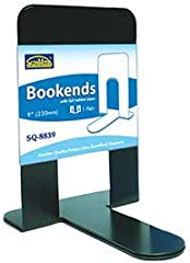 """Bookends 9"""" (230mm) - *BK, BL, GY"""